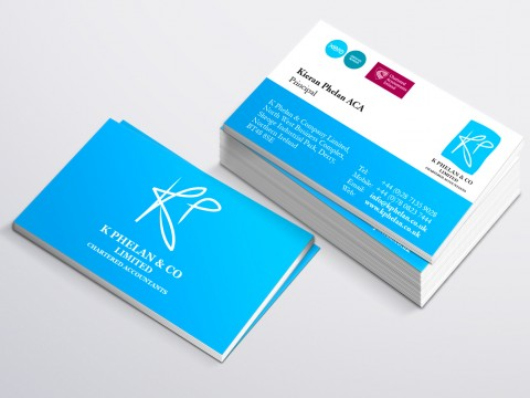 K Phelan & Co Business Card copy