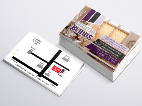 Capital Blinds Business Card copy