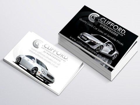 Clifford Cars Business Card copy