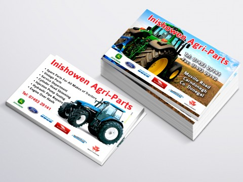 Inishowen Agri Business Card copy