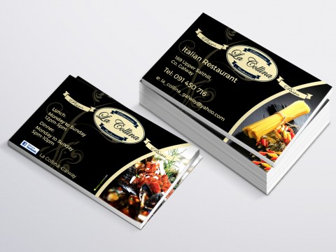 La Collina Business Card copy